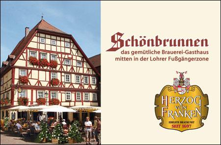 Gasthaus Schönbrunnen - Margitta Gottschalk - Lohr a  Main